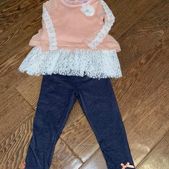 EUC Toddler Girl Matching Set